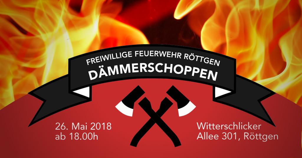 Nicht verpassen - Dämmerschoppen am 26. Mai 2018